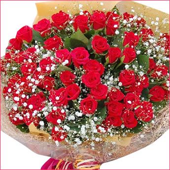 彼女の誕生日に送りたいバラの花束